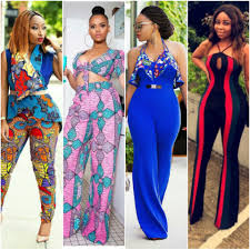 Ankara Shorts Designs For Ladies See 20 Latest Ankara Top And Trouser Styles Jumpsuits And