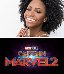 Wandavision stars elizabeth olsen and paul bettany interview each other about vision's return to the marvel cinematic universe, the new disney+ show's best wigs, and early memories of batman. Teyonah Parris Shows Up As Monica Rambeau In Wandavision Trailer And Joins Captain Marvel 2 Cast Black Girl Nerds