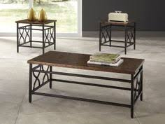 signature design by ashley tippley tippley bronze finish occasional table set bronze finish big sandy supers