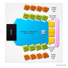 The Anthem Seating Chart Ajr Rescheduled From 11 21 19 Washington Dc Tickets 1 20