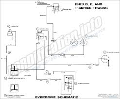 1963 ford truck wiring diagrams fordification info the 61 66 overdrive wiring 1963 b f and t series trucks overdrive schematic