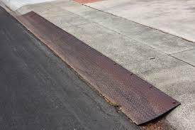 steel curb ramps