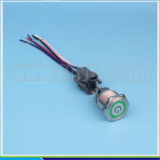 set 25mm switch wiring harness ip67 ring and power logo set 25mm switch wiring harness ip67 ring and power logo illuminated 12v led switch