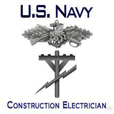 Construction Electrician Navy Construction Electrician