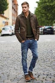 casual or dressy your brown leather jacket will help you pull off the perfect look enjoy our collection of brown leather jacket inspiration