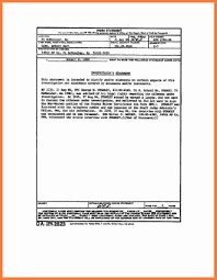 Sworn Statement Example 24 Sworn Statement Example Marital Settlements Information 19
