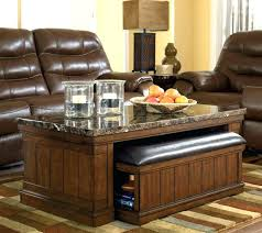 coffee table with ottoman seating decoration round
