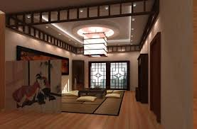 Japanese Living Room Furniture Big Oriental Hall Interior Buscar Con Google Asian Interior