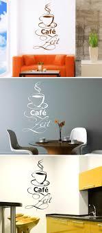 Café Zeit Wandtattoo Wandtattoo Esszimmer Und Wandtattoos