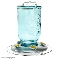 perky pet antique glass hummingbird feeder