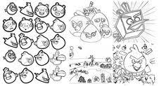 is your kid crazy about angry birds here are 25 free printable angry birds coloring pages for kids