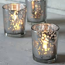 silver tea light holders home candle holders lanterns antique silver damask glass tealight holder mercury silver