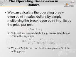 break even analysis equation break even equation barca fontanacountryinn com