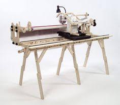Grace Machine Quilter's -Little Gracie 3 rail Frame : quilting ... & Little Gracie Machine Quilter Adamdwight.com