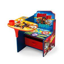delta children chair desk with storage bin nick jr paw patrol
