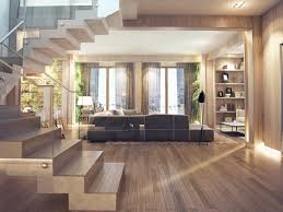Wood Interior Design Interior Design Close To Nature Rich Wood Themes And Indoor