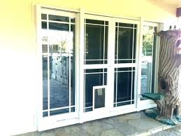 home depot door with dog door home depot door patio dog door insert dog doors for