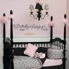 wall decal girl nursery erfly kisses decal girls wall decal baby girl decal zoom wall decals