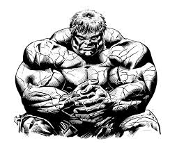 Halloween colouring pages by category: Hulk To Print For Free Hulk Kids Coloring Pages