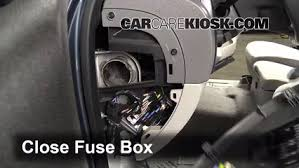 interior fuse box location chevrolet colorado  interior fuse box location 2004 2012 chevrolet colorado 2007 chevrolet colorado ls 3 7l 5 cyl extended cab pickup 4 door
