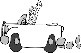 car driving clipart black and white. Simple Driving Intended Car Driving Clipart Black And White T