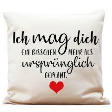 Kissen Spruch Mag Dich Mehr Als Geplant Von Wandtattoo Loft