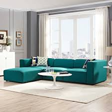 blue sofa with white piping inspiration mingle 4 piece upholstered fabric sectional sofa set on