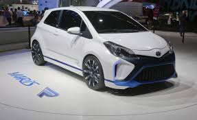 Toyota Yaris Hybrid-R Concept Photos and Info | News | Car and Driver