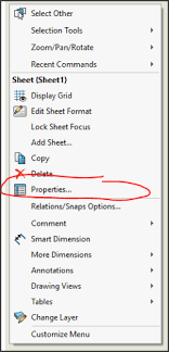 Format Template Difference Between Sheet Formats Drawing Templates Solidworks