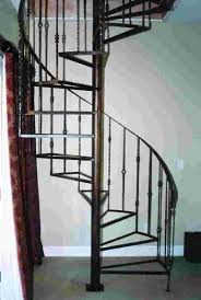 Alluring Home Interior Design With Various Wrought Iron Spiral Staircase  Kit : Amusing Picture Of Home