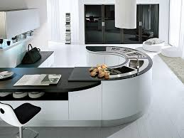 modern curved kitchen island. View In Gallery Curved Kitchen Island Idea Modern H
