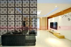 Wood Office Partitions Room Dividers Screen Partition Wall Hanging Wooden Size Glass Walls