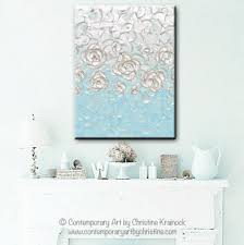 blue white wall decor images