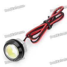 4w 190 lumen 6000k led eagle eye white lights for car size m dc 12v 41cm cable length