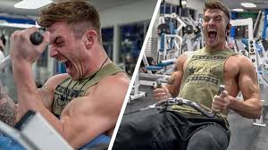 Back And Bicep Workout For Muscle Mass Gains V Shred