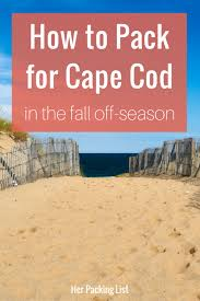 Weather Cape Cod October