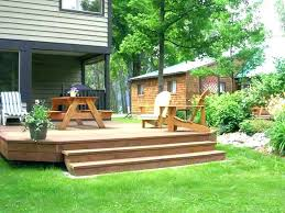 Backyard Decking Designs Beauteous Small Backyard Deck Ideas Small Deck Ideas On A Budget Cheap Deck