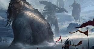 Image result for God sent the flood to destroy the nephilim