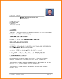 Official Resume Format Cover Letter For Experienced 2014 Free