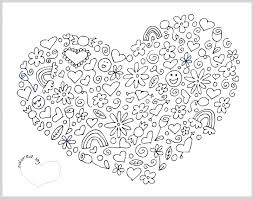 Small Picture Heart Coloring Pages Heart With Wings And Flames Coloring Love