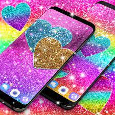 Multi color glitter live wallpaper for ...