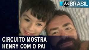 Circuito de segurança mostra menino Henry com pai horas antes de morrer |  SBT Brasil (19/03/21) - YouTube
