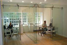freestanding glass wall partition gallery 6