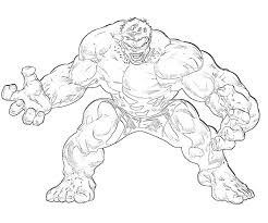 Prepare lots of green markers! Red Hulk Coloring Pages Coloring Home