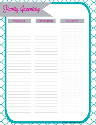 Inventory List Template Template Packing Inventory List Template Document Templates Pantry 7