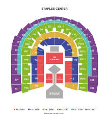 Honda Civic Center Seating Chart Logical Pink Staples Center Seating Chart First Ontario