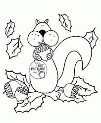 Small Picture Happy Autumn coloring pages for kids fall printables free
