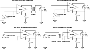 power supply why do we need an isolation transformer to connect schematic