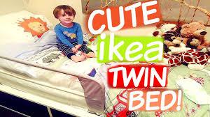 CUTE IKEA TODDLER TWIN BED! - YouTube