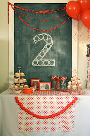 2 Year Birthday Ideas Red Ball Party Levis Second Birthday The Macs